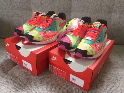 Nike X Atoms Air Max2 Light QS Size:US8 & 9 180 360 vintage daybreak waffle racer