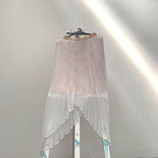 🚚 BCBGMAXAZRIA Pleated A-line Skirt