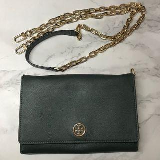 Tory Burch Crossbody Chain Bag/ Purse/ clutch