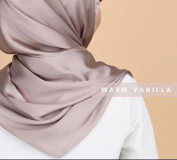 Satin silk Long shawl lightweight
