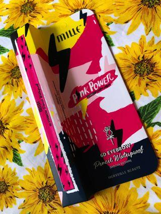 Mille Beaute X Eveandboy PINK POWER [Limited Edition] 6D Eyebrow Pencil  #OYOHOTEL