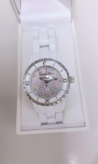 角落生物 陶瓷腕錶