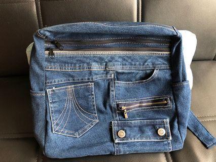 牛仔布背包