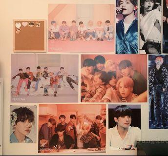 WTS bts persona poster all ver