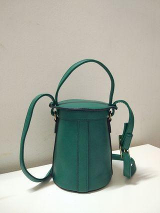 Cylinder Bag from Zalora