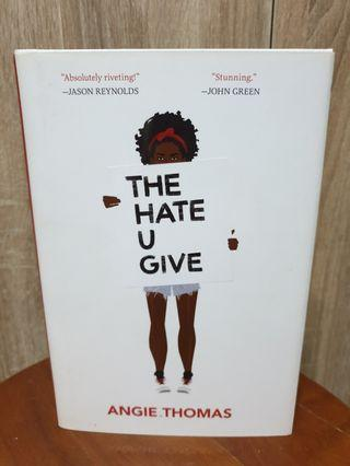 🚚 The hate u give- Angie Thomas