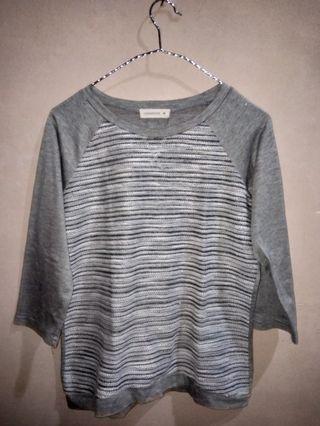 Connexion grey baju wanita