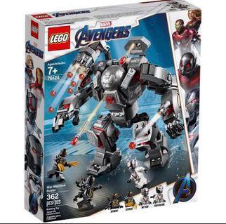 Lego 76124 war machine superheroes marvel