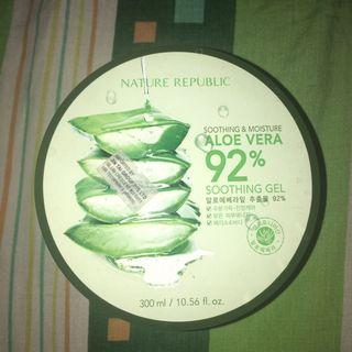 Nature Republic Aloe Vera Soothing Gel Original (PRELOVED)