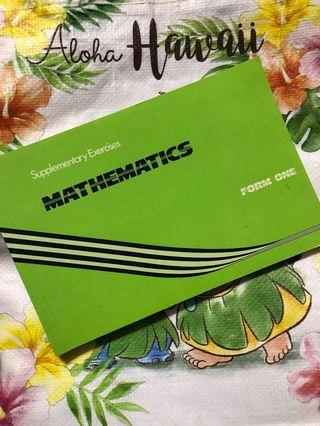 [F1 Maths] Supplementary Exercises Maths Form One