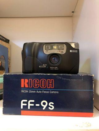 Ricoh FF-9s 35mm film camera