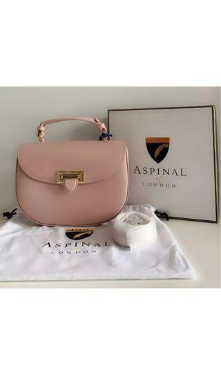 Aspinal of London Women's Letterbox Saddle Bag