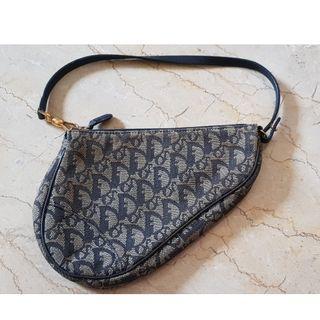 Christian Dior Sadle Handbag (Genuine)