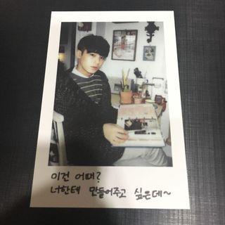Official Mingyu Seventeen Membership Photocard