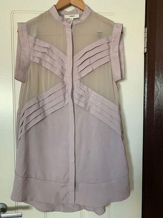 Cameo Button Dress