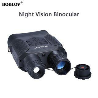 2019 Russia Military Grade High Powered Night Vision Electrical Binoculars - Complete Set with Case - Bolov NV2019-400