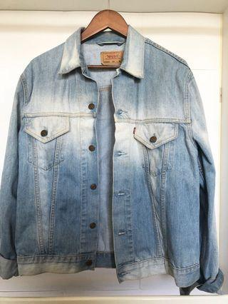 Unisex Levi ombré denim jacket