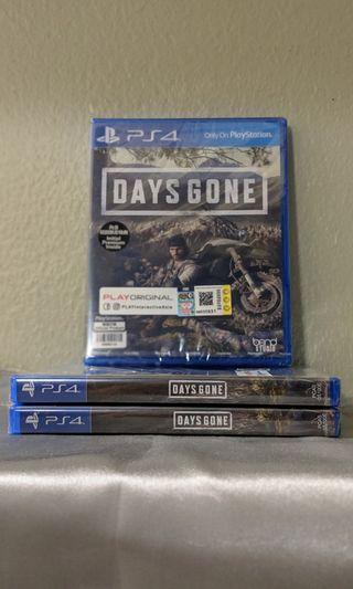 Days Gone R3 New & Sealed