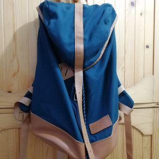(歡迎要圖) Mont Bell Montbell French Guide Pack 藍色背囊 Backpack