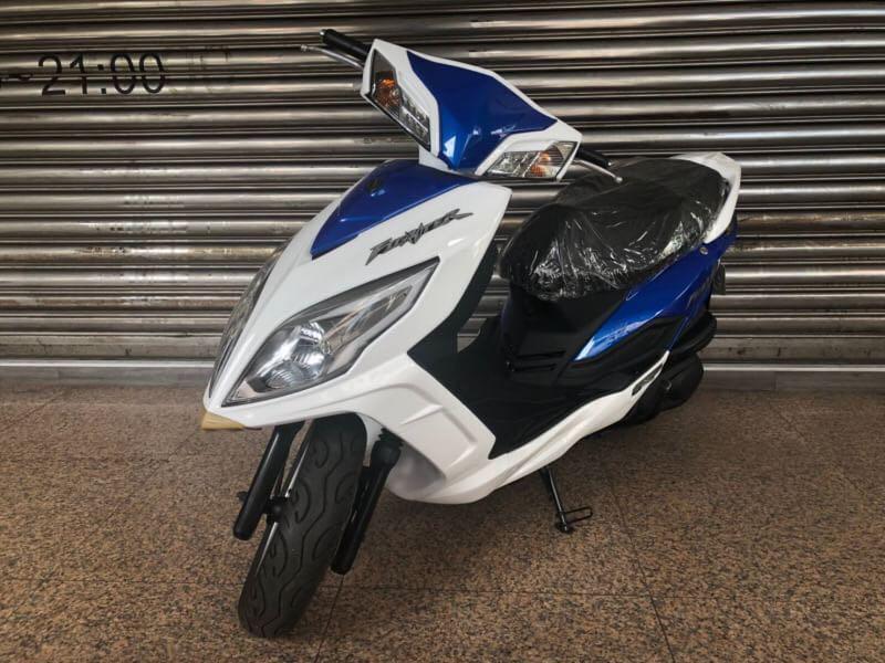 2012年New Fighter 150 白藍