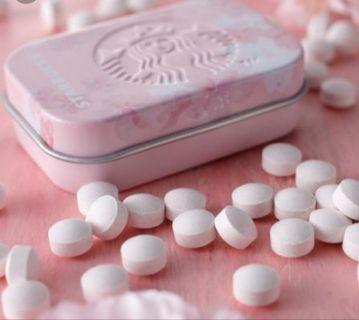 🇯🇵日本<現貨>Starbuck 櫻花薄荷糖