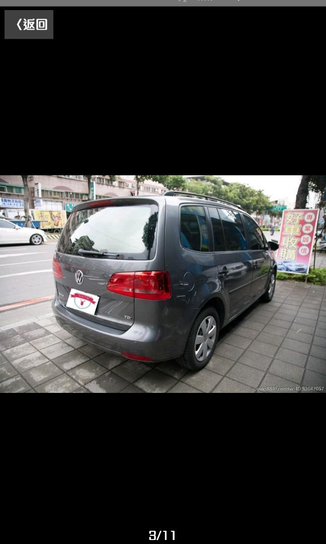 2013款 福斯TOURAN 1.6TDi