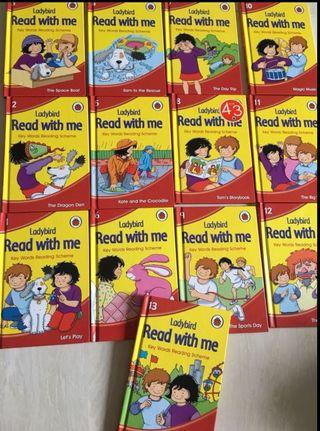 Ladybird Story Books : Read With me key words reading scheme