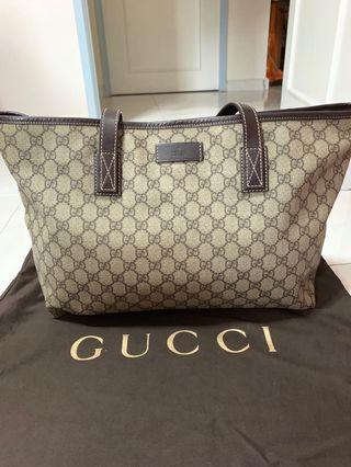ad58f5f502 100% Authentic Prada Handbag BN2832 Brown, Luxury, Bags & Wallets ...