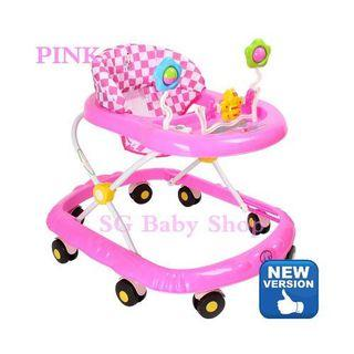 Brand-new baby walker/New version/limited stock/pink/blue/green