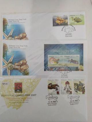 First Day Cover- 2007  Collection