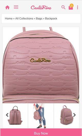 CarloRino Backpack (Original Brand)