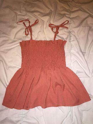 XS pink cute top