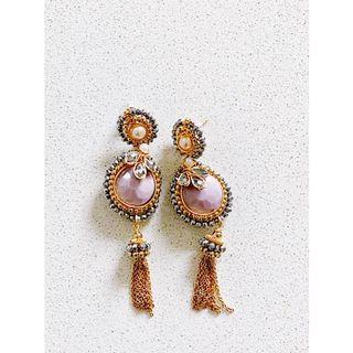 Handmade earrings in Mexico! ✨