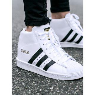 ADIDAS - SUPER STAR HIGH TOPS