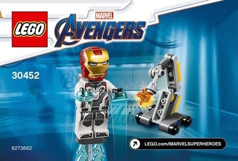 30452 LEGO Iron Man and Dum-E polybag BRAND NEW Avengers Ironman