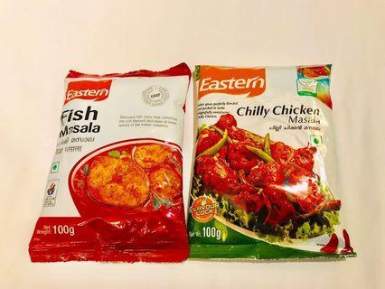 咖哩粉香料 Fish Masala /Chilly Chicken Masala