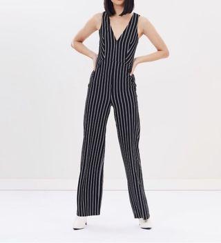 Miss Selfridge Striped Jumpsuit