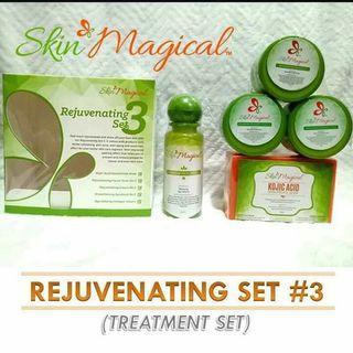 Skin Magical Rejuvenating Set 1,2 and 3