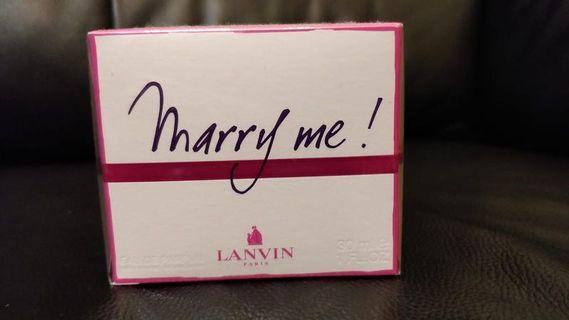 Lanvin Marry Me