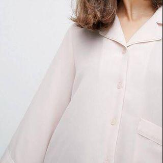 MONKI - Piped Pyjama dressing blouse