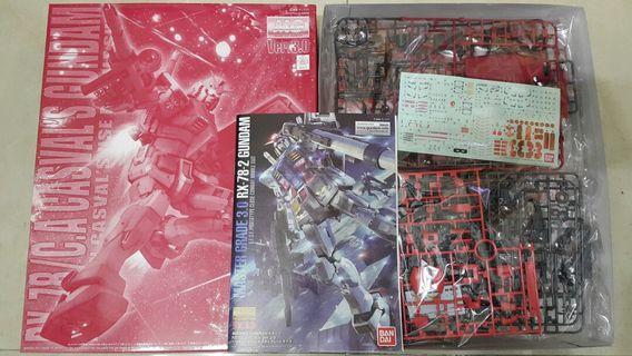 高達模型 PB MG RX-78/C.A Casval's Gundam借圖
