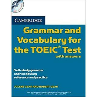 TOEIC Vocabulary Tests Meanings