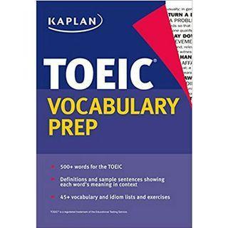 TOEIC Vocabulary Words