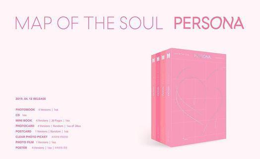 {POSTAGE INCLUDE} BTS [MAP OF SOUL : PERSONA]