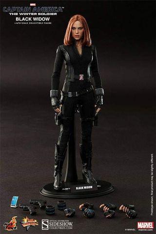 Hot Toys Winter Soldier Black Widow
