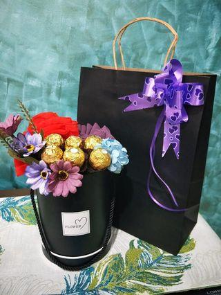 Chocolate Hijabi/Shawl Bouquet