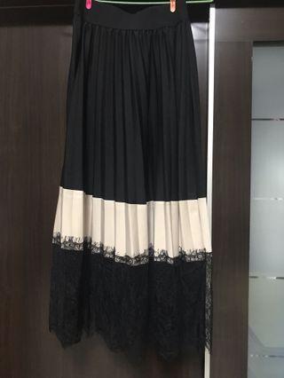 🚚 蕾絲黑裙