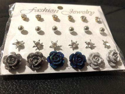 New! FREE Mailing! 24 Pairs of Ear Rings