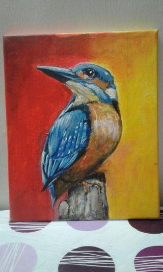 King Fisher painting