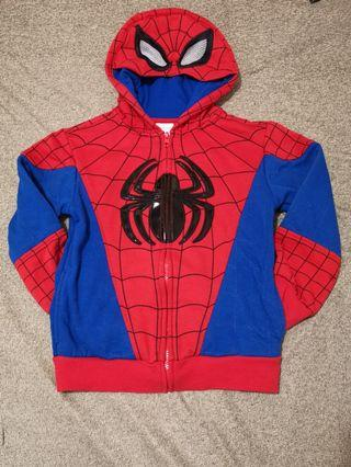 蜘蛛俠小童開胸外套